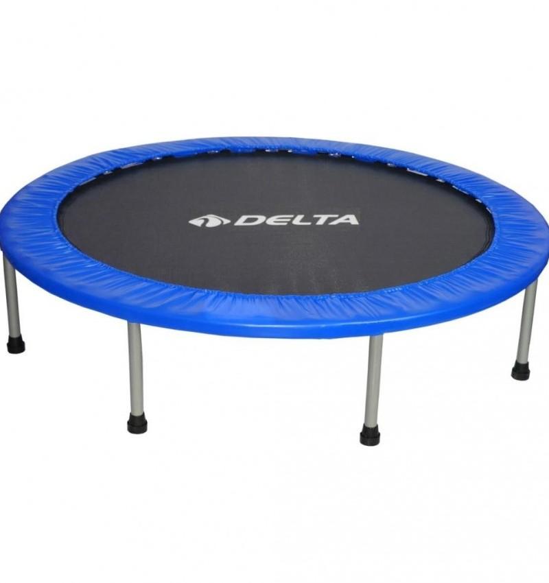 Delta 122 cm Deluxe Mavi Trampolin (48 inç Trambolin)