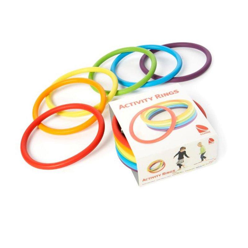 Gonge Aktivite Halkaları 6 Renk - Activity Rings 2190