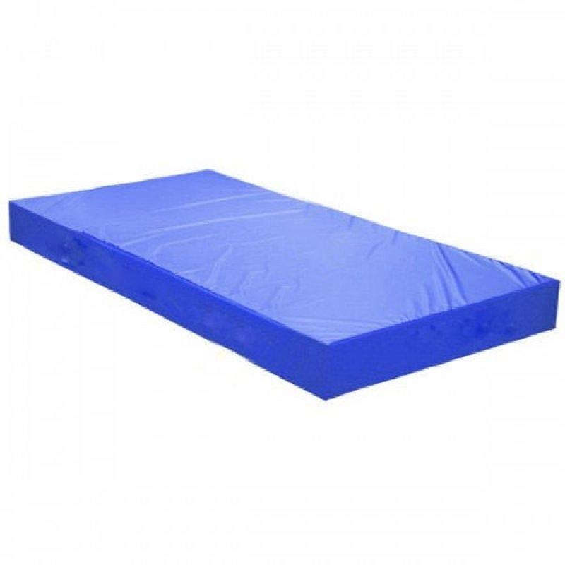 Jimnastik Minderi Mavi 200x100x10 Cm